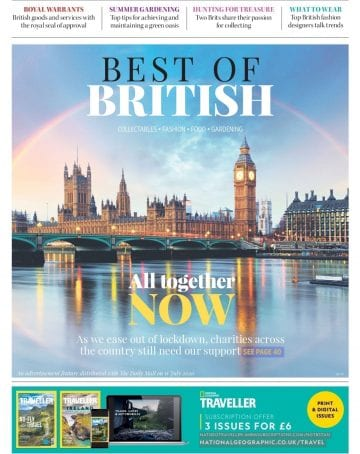 Best of British, distributed with The Daily Mail on 11th July 2020